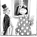 Two Clowns Remark On A Portrait Of An Austere Old by Matthew Diffee
