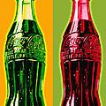 Two Coke Bottles by Gary Grayson