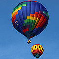 Two Colorful Balloons by Carol Groenen