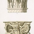 Two Column Capitals by English School
