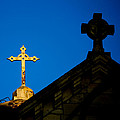 Two Crosses In Jerusalem by Anthony Doudt