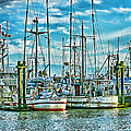 Two Fishing Boats Hdr by Randy Harris