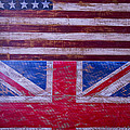 Two Flags American And British by Garry Gay
