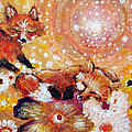 Two Foxes You Have A Friend In Me by Ashleigh Dyan Bayer