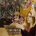 Two Girls With Oleander by Celestial Images