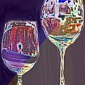 Two Glasses  by Ian  MacDonald