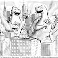 Two Godzillas Talk To Each Other by Paul Noth
