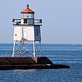 Two Harbors Breakwater Lighthouse by George Jones