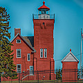 Two Harbors Lighthouse by Paul Freidlund