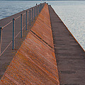 Two Harbors Mn Pier Light 6 by John Brueske