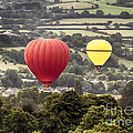 Two Hot Air Baloons Drifting by Simon Bratt Photography LRPS
