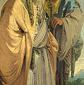 Two Men In Oriental Costume by Giovanni Battista Tiepolo