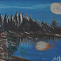 Two Moons That Meet In The Night by Suzanne Surber