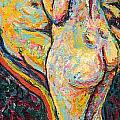 Two Nudes by Ernst Ludwig Kirchner