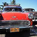 Two Old American Cars by Deborah Benbrook