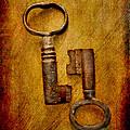 Two Old Keys by Brian Raggatt