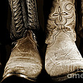 Two Pair Of Cowboy Boots Are Better Than One by Lincoln Rogers