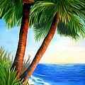 Two Palms by Shelia Kempf