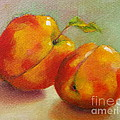 Two Peaches by Michelle Abrams