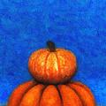 Two Pumpkins by Jutta Maria Pusl
