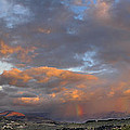 Two Rainbows In Sierra Nevada by Guido Montanes Castillo