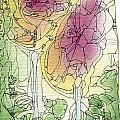 Two Roses by Ingela Christina Rahm