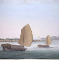Two Sailing Boats by British Library