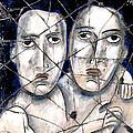 Two Souls - Study No. 1 by Steve Bogdanoff