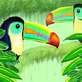 Two Toucans by Nick Gustafson