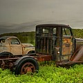 Two Trucks by Thomas Young