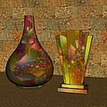 Two Vases by Judi Suni Hall