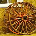 Two Wagon Wheels by Jeff Swan