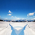 Two Ways Choice In Winter by Michal Bednarek