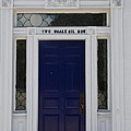 Two Whale Oil Row - Blue Door - New London by Christiane Schulze Art And Photography