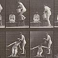 Two Women Bathing by Eadweard Muybridge