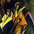 Two Women On The Street by Ernst Ludwig Kirchner