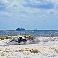 Tybee Island Kite Surfing by Tara Potts