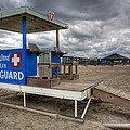 Tybee Island Lifeguard Stand by Peter Tellone
