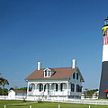Tybee Island Lighthouse Georgia by Bob Pardue