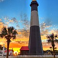 Tybee Island Sunrise by Gordon Elwell