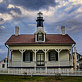 tybee Light Straight Up by Diana Powell