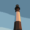 Tybee Lighthouse Sunset by Rhodes Rumsey