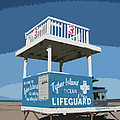 Tybee Third Street Lifeguard Stand by Rhodes Rumsey