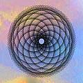 Tye Dye Spirograph by Bill Cannon
