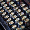 Typewriter Keys by David and Carol Kelly