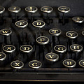 Typewriter Keys by Jessica Berlin
