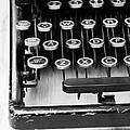 Typewriter Triptych Part 1 by Edward Fielding