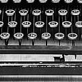 Typewriter Triptych Part 2 by Edward Fielding