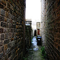 Typical English Back Alley by Doc Braham