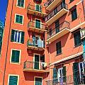Typical Ligurian Homes by Antonio Scarpi